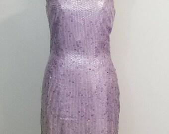 Lavender Sequin Dresses