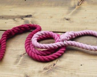 Slip Rope Dog Leash