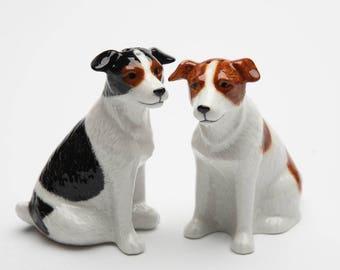 Jack Russel Terrier Salt and Pepper Shaker Set (20869)