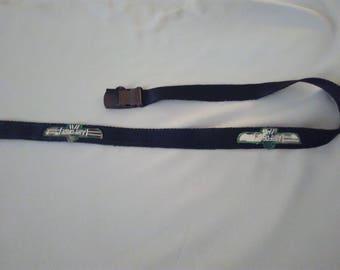 Military pattern cotton canvas belt
