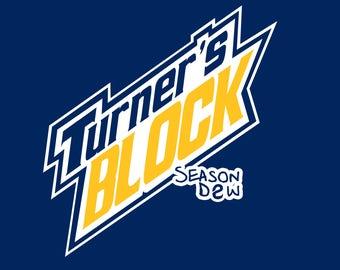 Turner's Block Season D2W Hoodie