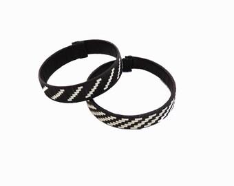Bracelets Arhuacas / Woven Bracelets / Colombian Handicrafts