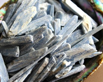Kyanite Blades | Crystal Healing | Natural Kyanite | Metaphysical | Altar Stone | Wiccan | Blue Kyanite Blades | Throat Chakra