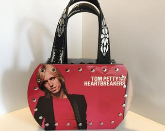 Tom Petty and the Heartbreakers vinyl record purse