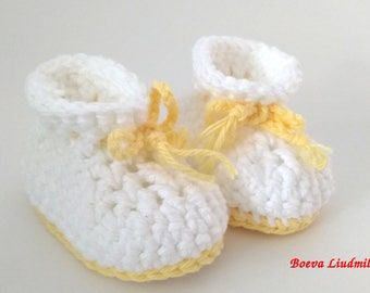 Summer booties for baby