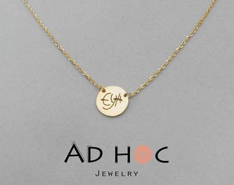 Necklace with Locket personalized (name)