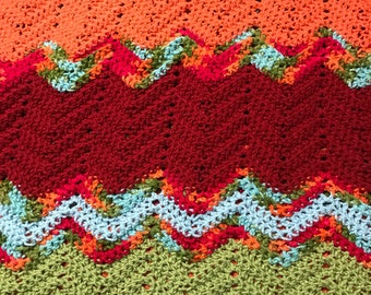 Sparkly fall blanket