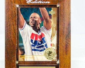 Ultra Rare 1994 Upper Deck Michael Jordan All Time Greats USA Basketball Plaque