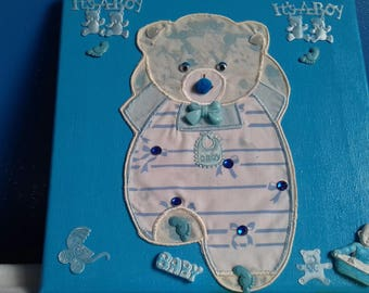 pretty picture theme baby boy 20 / 20cm