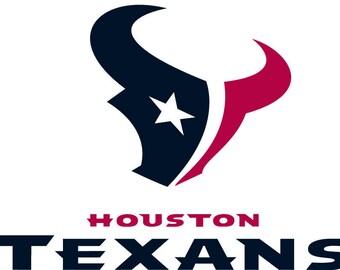 Logo Houston Texans in SVG / Eps / Dxf / Jpg files INSTANT DOWNLOAD!