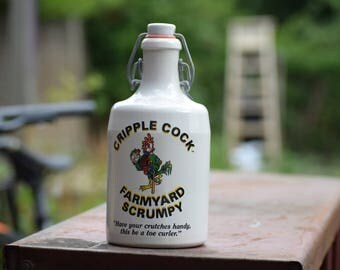 Farmyard Scrumpy Cider Stoneware Bottle