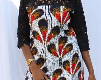 Ankara Dress  size 12