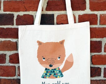 "Tote bag ""My little bag"""
