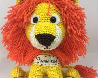 LION - Amigurumi - Crochet