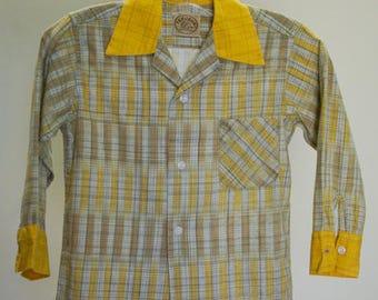 Boys vintage 1950s western shirt