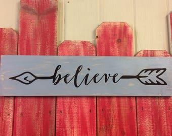 Customizable Hand Painted wooden sign.