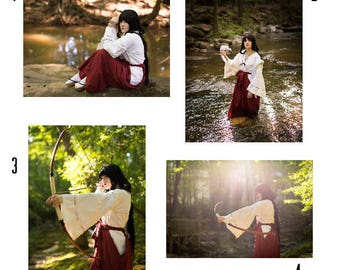 Kikyo Inuyasha Cosplay Prints 4x6