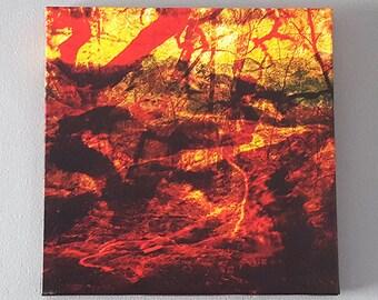 Canvas Print: Ablaze