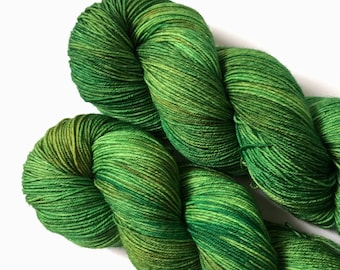Hobbit - Ready to ship hand dyed sock yarn