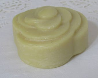 Simple Oil Goat Milk Soap  -  Flower A