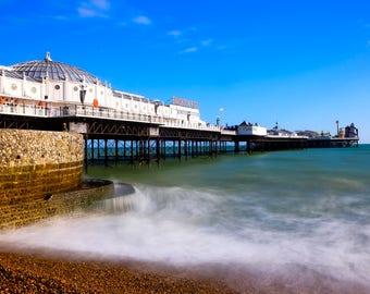 Brighton, Brighton Beach, UK, Travel, Fine Art Photography, Long Exposure, Brighton Pier