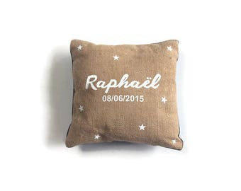 Personalized reversible pillow