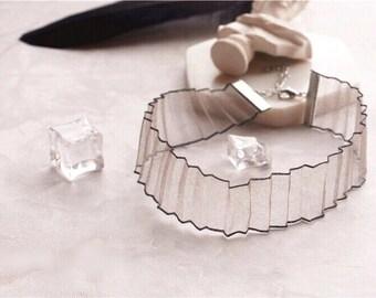Lace Choker\ Lace Necklace