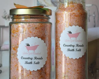 Country Roads Soothing Bath Salt