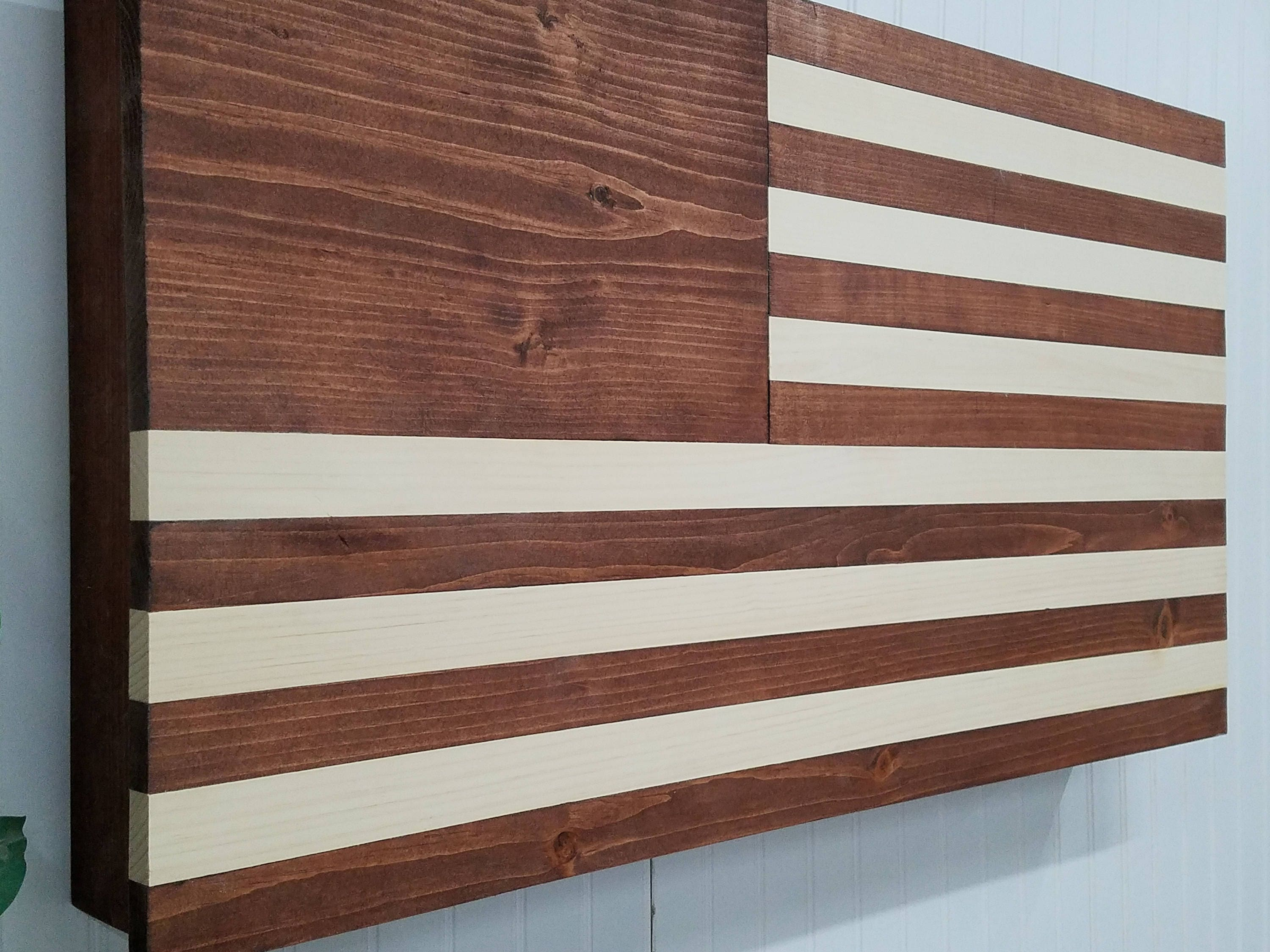 American Flag Usa Concealment Furniture Compartment Wall