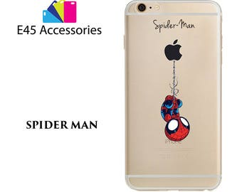 SPIDERMAN - Marvel Super Heros Hard Case for iPhone 5S 5 SE, iPhone 6S 6 or iPhone 7