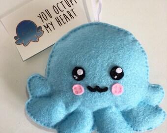 Kawaii Octopus Plushie