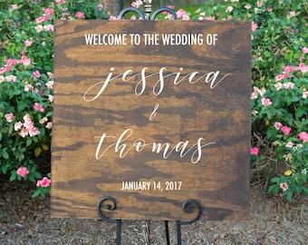 Wedding Welcome Sign, Wood Wedding Sign, Wedding Welcome, Wedding Decor, Rustic Wedding Decor, Custom Wedding Sign, Wood Signs, Decor