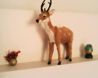 Deer, kitsch decor for cabin or Christmas Reindeer / Deer for home decor or for Christmas