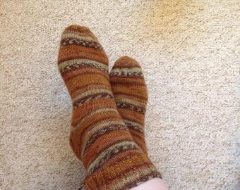 Hand Knitted socks Women's size 38/39