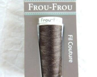 All textiles Frou-Frou chocolate thread