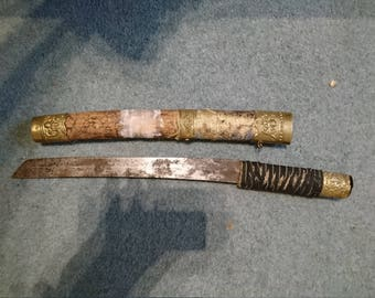 Recreation Japanese Tanto Blade