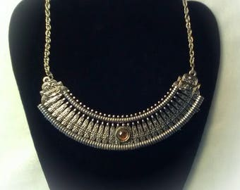 This one of a kind set includes necklace and earrings