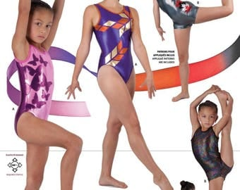 Jalie 3138 - Gymnastics Tank Leotard and Biketard / 22 Sizes / Child & Adult