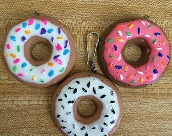 Trial Run- Doughnut Keychain