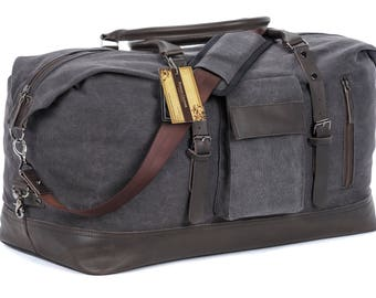 Leather duffle bag, duffle bag, leather bag, canvas duffle bag, mens duffle bag, large duffle bag, womens duffle bag, carry on bag, duffel