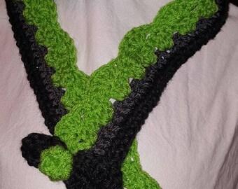 Skinny and Stylish Handmade Crocheted Scarf