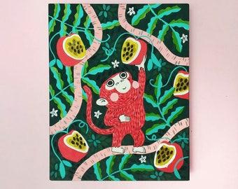Tropic monkey // Illustration