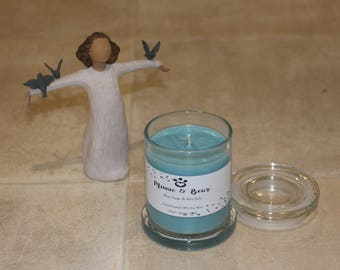 Blue Sage & Sea Salt - 100% Soy Wax Hand Poured Candle