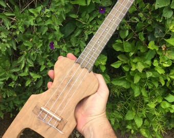 Travel Ukulele - Solid Body