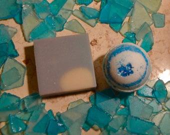 Men Soap Gift Set- Bath Bomb for Men, Soap Set for Men, Soap for Men, Natural Soap, Artisanal Soap, Soap for Dry Skin, Handmade Soap