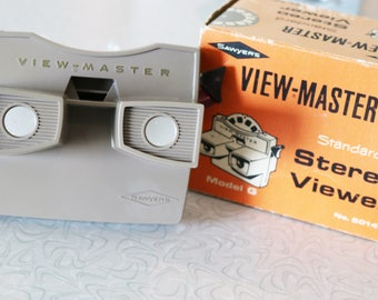 Vintage Sawyers View Master Stereo Viewer in Original Box