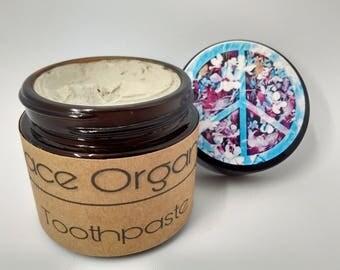 Wintergreen Toothpaste - 2oz Glass Jar