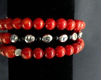 HUSKERS bracelet