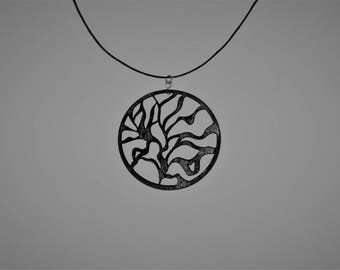Necklace tree around