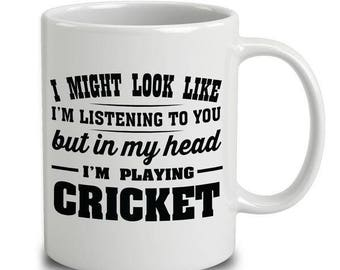 Fun Cricket Mug